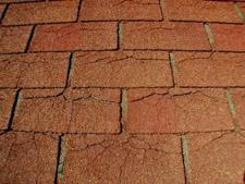 Dry Cracked Shingles