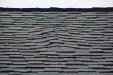 Blistering Roofing Shingles