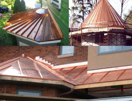 Copper Metal Roofing Is Very Versatile, Offering Many Practical Benefits  Over More Conventional Roofing Materials Like Asphalt Shingles And Shake.